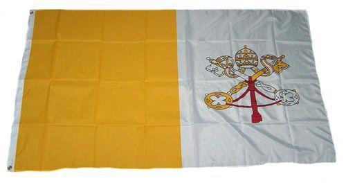 Flagge / Fahne Vatikan Hissflagge 90 x 150 cm Vatikanstadt