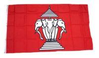 Fahne / Flagge Laos alt 90 x 150 cm