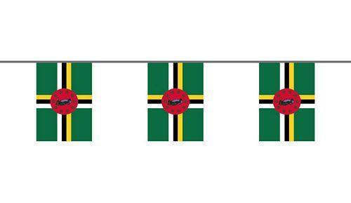 Flaggenkette Dominica 6 m