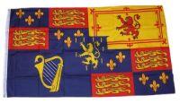 Fahne / Flagge Großbritannien Royal Banner 1689-1702 90 x 150 cm