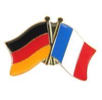 Fahnen Freundschaftspin Anstecker Frankreich