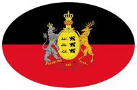 Wappen Aufkleber Sticker Württemberg