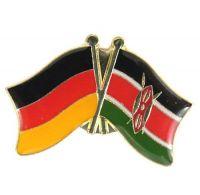 Fahnen Freundschaftspin Anstecker Kenia