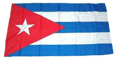 Fahne Flagge Kuba 30 x 45 cm