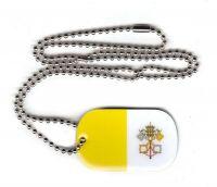 Dog Tag Fahne Vatikan