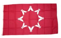 Fahne / Flagge Indianer - Oglala Sioux 90 x 150 cm