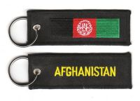 Fahnen Schlüsselanhänger Afghanistan
