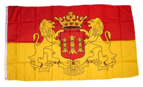 Flagge / Fahne Lingen Hissflagge 90 x 150 cm
