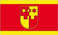 Fahne / Flagge Kroatien - Krapina Zagorje 90 x 150 cm