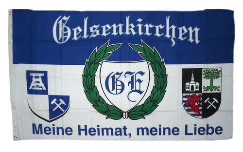 KAISERSLAUTERN BULLDOGGE die Nr 1 aus der Pfalz  Fahne Flagge 90 x 150 cm Fan