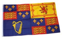 Fahne / Flagge Großbritannien Royal Banner 1603-89 90 x 150 cm