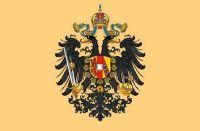 Fahnen Aufkleber Sticker Österreich Ungarn Adler