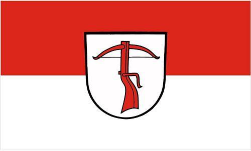 Flagge / Fahne Allmersbach im Tal Hissflagge 90 x 150 cm