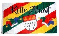 Fahne / Flagge Kölle Alaaf Karneval Köln Fasching 90 x 150 cm