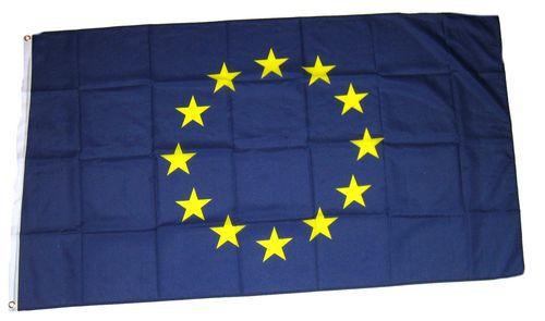 Flagge / Fahne Europa 12 Sterne Hissflagge 90 x 150 cm