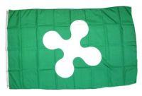 Fahne / Flagge Italien - Lombardei 90 x 150 cm