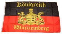 Fahne / Flagge Königreich Württemberg 90 x 150 cm