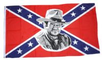 Fahne / Flagge Südstaaten - John Wayne 90 x 150 cm