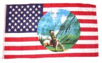 Fahne / Flagge USA - Valley of Spirit 90 x 150 cm