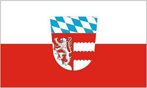 Fahne / Flagge Landkreis Dingolfing Landau 90 x 150 cm