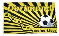 Fahne / Flagge Dortmund Meine Liebe 90 x 150 cm