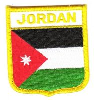 Wappen Aufnäher Fahne Jordanien