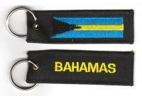 Fahnen Schlüsselanhänger Bahamas