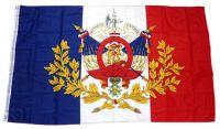 Flagge / Fahne Frankreich Wappen Hissflagge 90 x 150 cm