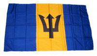 Fahne / Flagge Barbados 30 x 45 cm
