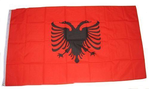 Fahne / Flagge Albanien 150 x 250 cm