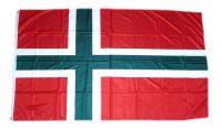Fahne / Flagge Dänemark - Bornholm 90 x 150 cm