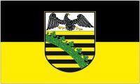 Fahne / Flagge Provinz Sachsen 90 x 150 cm