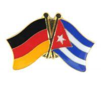 Fahnen Freundschaftspin Anstecker Kuba