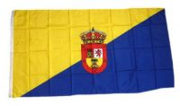 Fahne / Flagge Spanien - Gran Canaria 90 x 150 cm