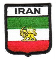 Wappen Aufnäher Fahne Iran Löwe