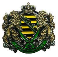 Pin Königreich Sachsen Wappen Anstecker NEU Anstecknadel