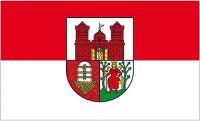 Fahne / Flagge Schönebeck Elbe 90 x 150 cm