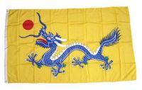 Fahne / Flagge Qing Dynastie 90 x 150 cm