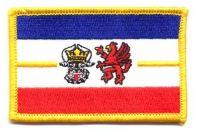 Fahnen Aufnäher Mecklenburg Vorpommern