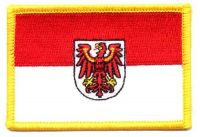 Fahnen Aufnäher Brandenburg