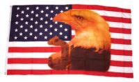 Fahne / Flagge USA - Eagle with Tear 90 x 150 cm