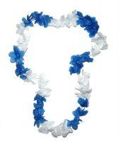 Hawaiikette blau / weiß
