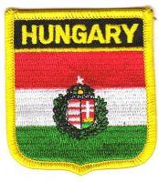 Wappen Aufnäher Fahne Ungarn