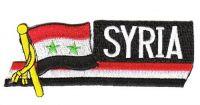 Fahnen Sidekick Aufnäher Syrien