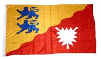 Fahne / Flagge Kreis Rendsburg Eckernförde 90 x 150 cm