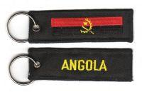 Fahnen Schlüsselanhänger Angola