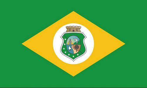 Fahne / Flagge Brasilien - Ceará 90 x 150 cm