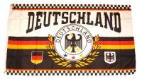 Fahne / Flagge Deutschland Fußball 150 x 250 cm