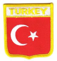 Wappen Aufnäher Fahne Türkei