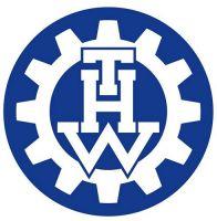 Aufkleber Sticker THW Technisches Hilfswerk rund